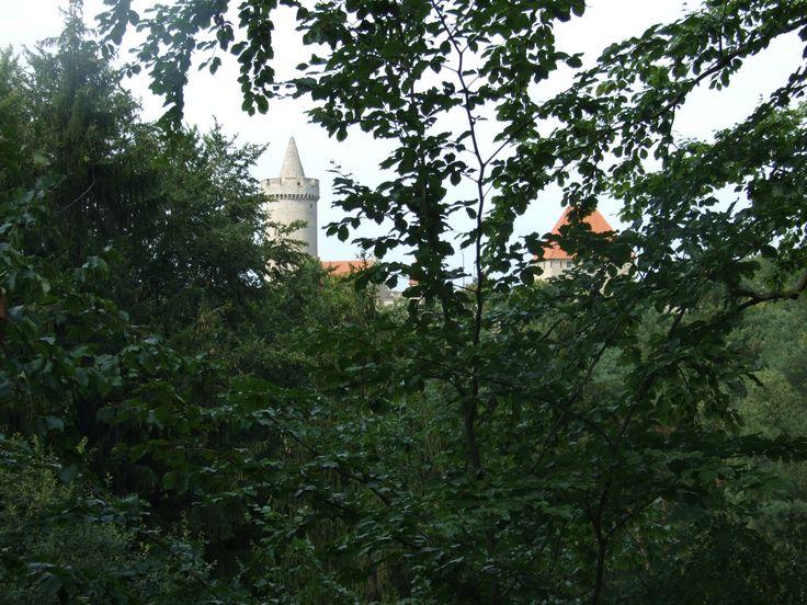 Kokořín, general view from road