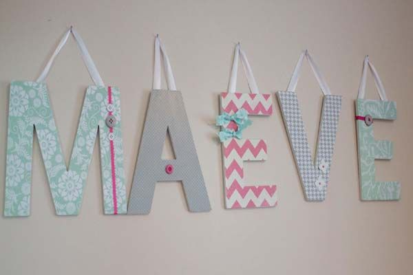 baby letters | File Name : Cute-Ideas-for-Making-Wooden-Letters ...