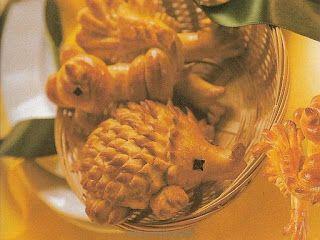 Cukrovi na Vanoce: Kynutá velikonoční zvířátka