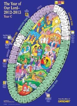 Catholic Church Calendar, Catholic Liturgical Year, Calendar Sundays ...