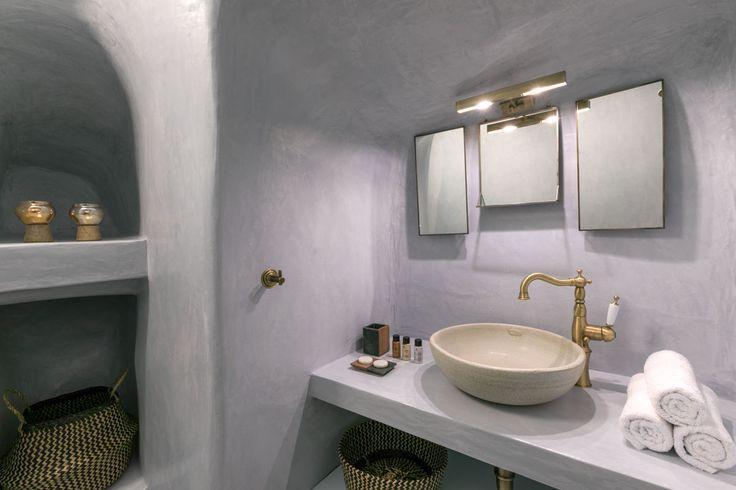Project: Luxury villa Namaste Suites for rent,  Location: Oia, Santorini Architect: Elias Apostolidis Interior Designer: Maria Chatzistavrou- Lime Deco Photographer: George Fakaros