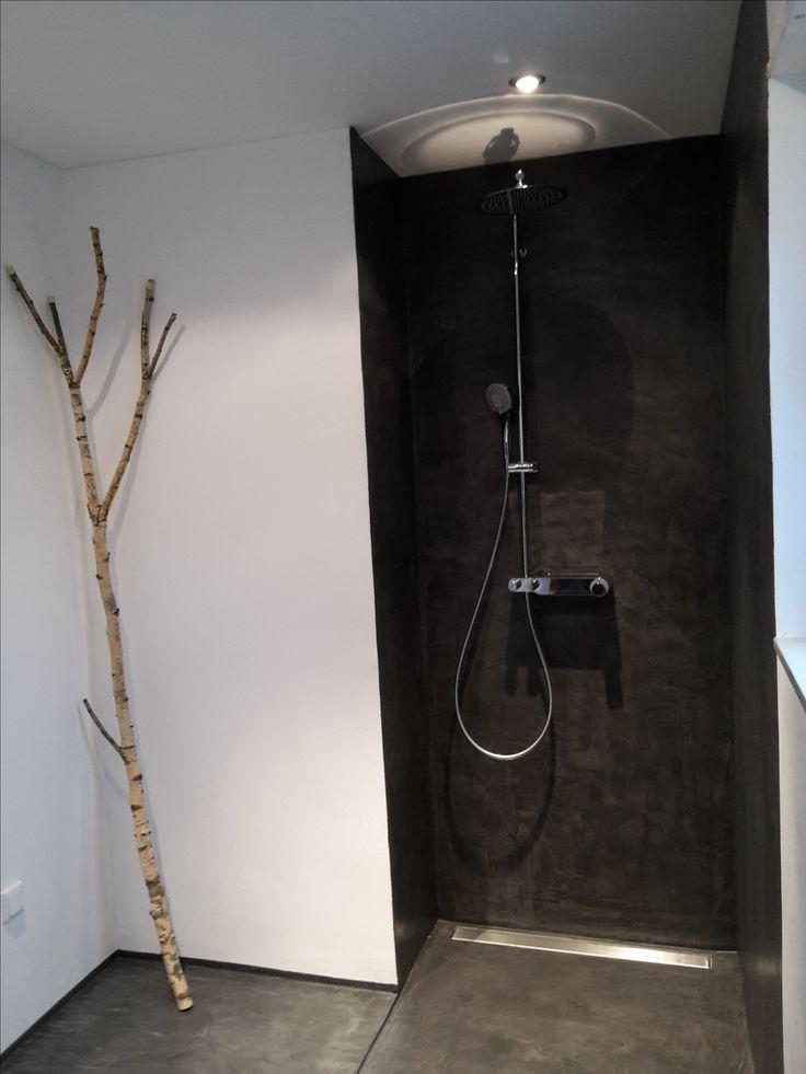 Beton Cire - Fugenlose Dusche