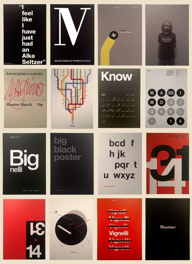 Выставка посвященная Массимо Виньелли. Timeless Massimo Vignelli.