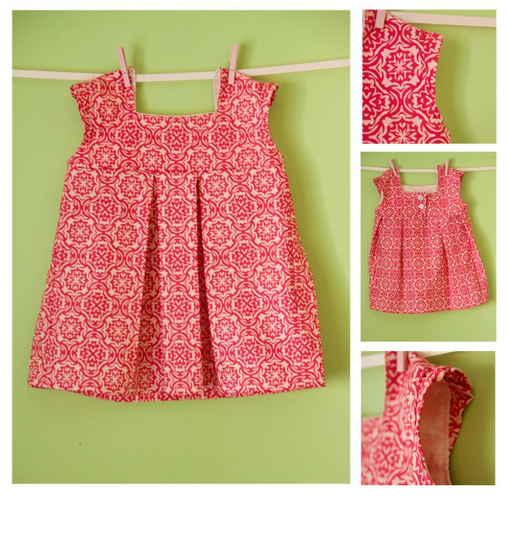 The Brooke Dress PDF Girls Sewing Pattern Size 18m-5T. $6.29, via Etsy.