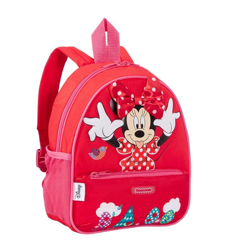 Super lækre Samsonite Disney rygsæk S, Minnie Mouse Samsonite  til Rygsække til hverdag og fest