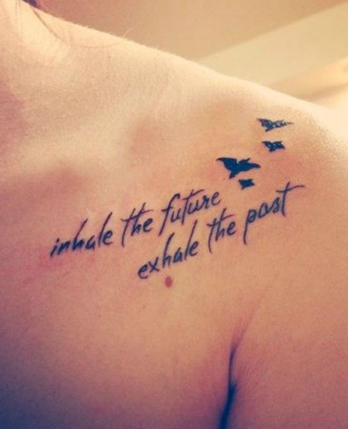Inspirational Quote Tattoos Would Definitely Want to Get Inked | Beauty Finals