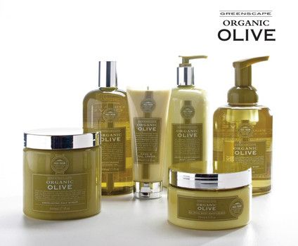 Luxury Olive Oil spa beauty products