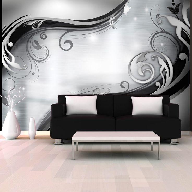 """Wallpaper – Grey wall"" – 3D Wallpaper Murals UK"