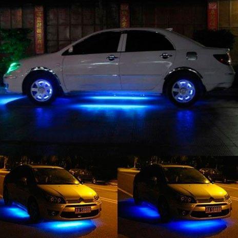 Светодиодная подсветка днища автомобиля с пультом