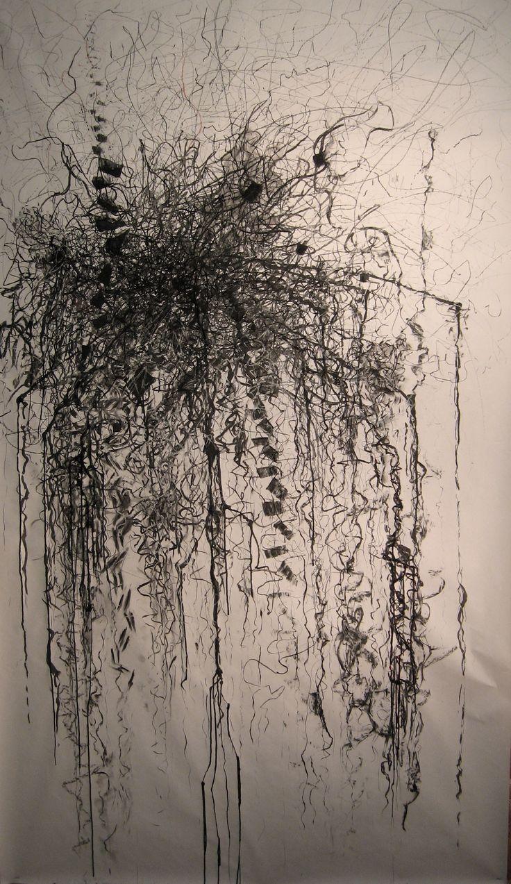 """Untitled"""" Mark Making   Stephen's studio of fine art  - over dezelfde tekening lagen toevoegen"""