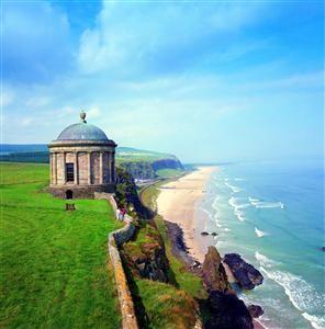Mussenden Temple, Downhill Beach, Co Antrim, Northern Ireland