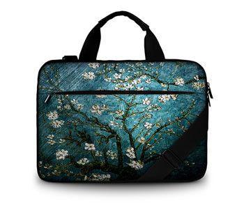 customization cotton soft canvas laptop bag 15.6 case bag women messenger bags for xiaomi air 3 bag for macbook/hp/acer/lenovo