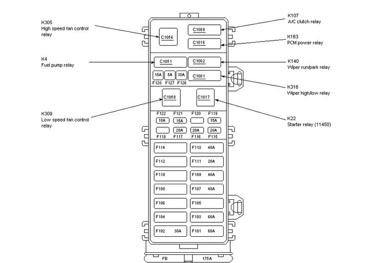 [DIAGRAM] 2005 Ford Ranger 2 3l Fuse Box Diagram FULL