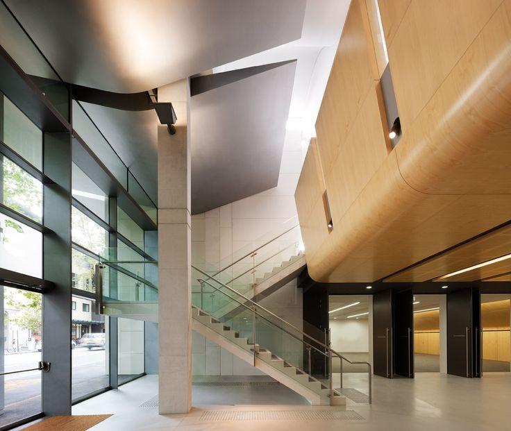 Key Lena hope pine veneer  Custom panels for St Barnabas Church Sydney  Architect FJMT