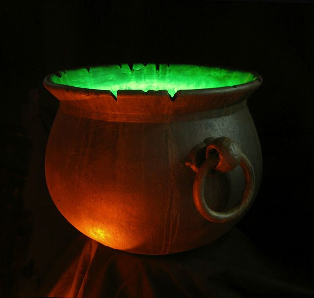 Dave Lowe Designs - how to turn your store-bought cauldron into a better one