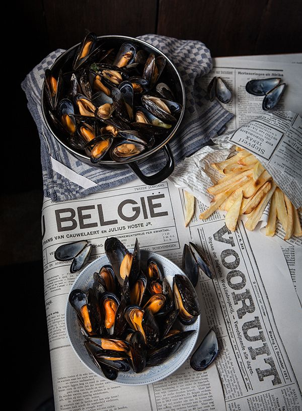 Miss Foodwise | Celebrating British food and culture: Mussels with Belgian fries for Food Revolution day
