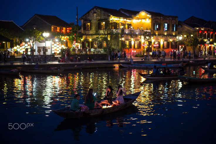 Hoi An night - Nightscape of Hoi An old town in Vietnam