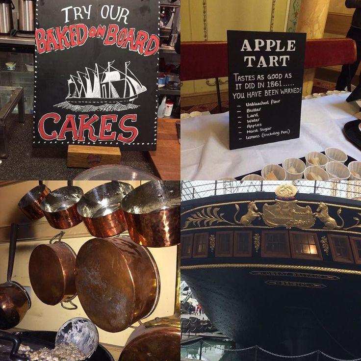 New blog post - a great visit to @ssgreatbritain severnbites.com #bristol #shipsbiscuits #grandparent #blogger #foodhistory #daysout #brunel