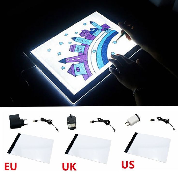 LED A4 Tracing Drawing Board Artist Light Box Thin Art Stencil Pad Board Tattoo | Crafts, Art Supplies, Drawing & Lettering Supplies | eBay!