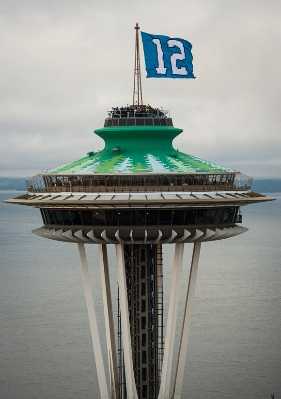 12th Man   Seahawks- my name is on that flag! Go dad!