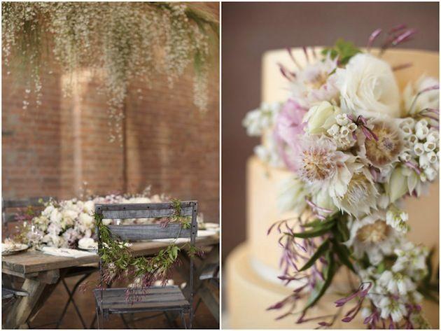 Blush Pink, Romantic & Whimsical Wedding Inspiration ShootBridal Musings Wedding Blog