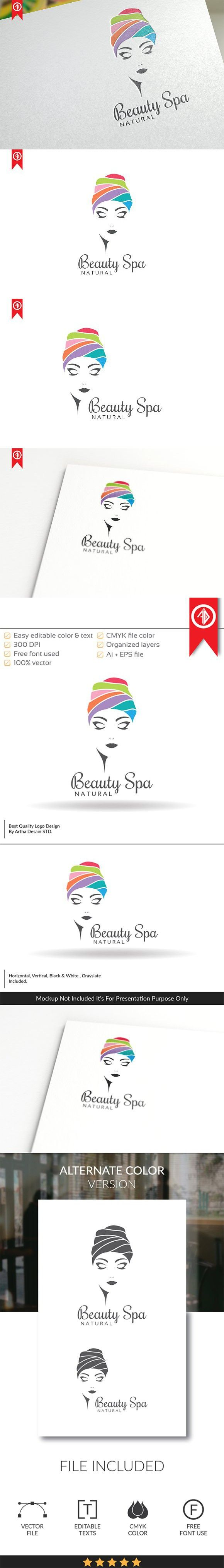Beauty SPA - Logo Template. Logo Templates