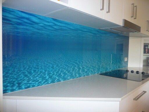 Printed Glass Splashback