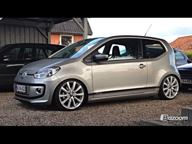 VW Up! Dark gray