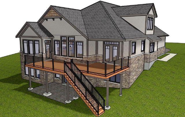 Best 25 walkout basement ideas only on pinterest for 2500 sq ft house plans with walkout basement