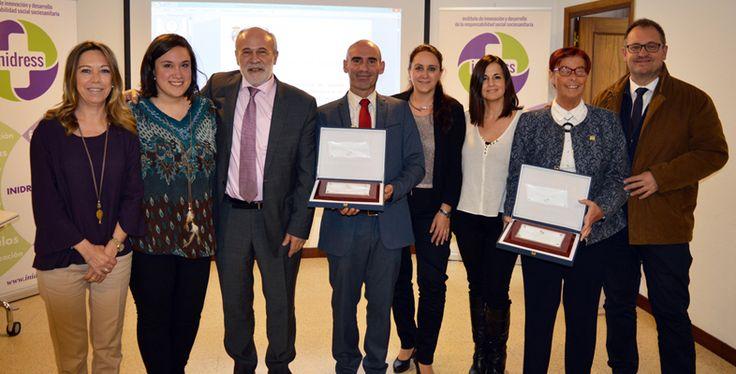 """El Servicio Madrileño de Salud vuelve a ser premiado con el programa de salud psicosocial """"Cuidar al que cuida""""  en el IV  Reconocimiento al Cuidador de INIDRESS"""