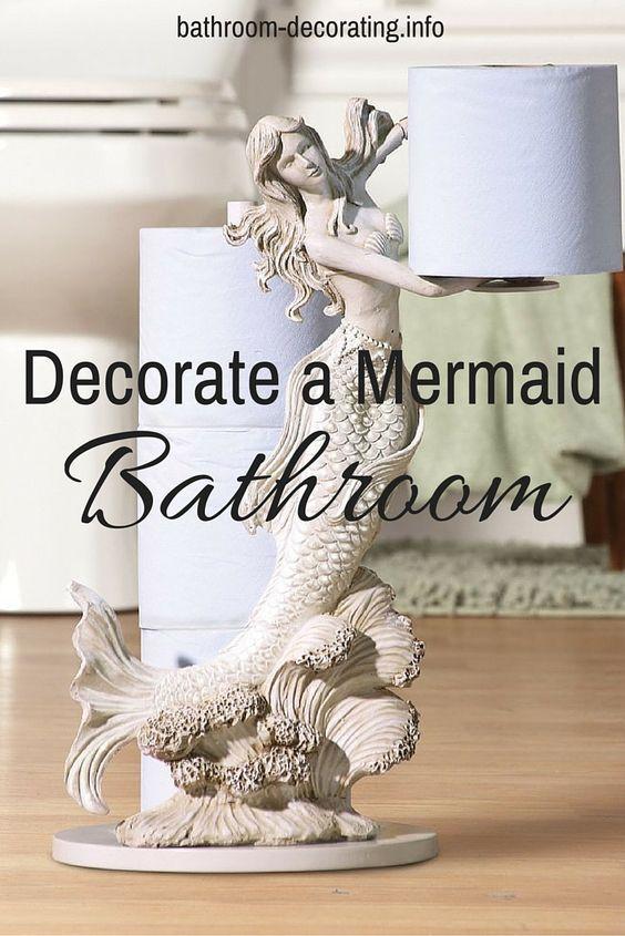 Decorate A Mermaid Bathroom Mermaid Bathroom Mermaid And Decorating