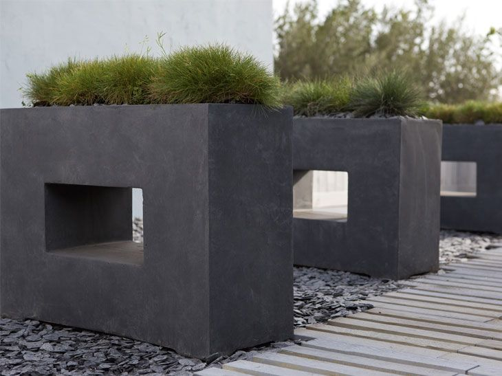 Pots Ciment | Jardin | Pinterest | Leroy Merlin, Fibre Et Merlin