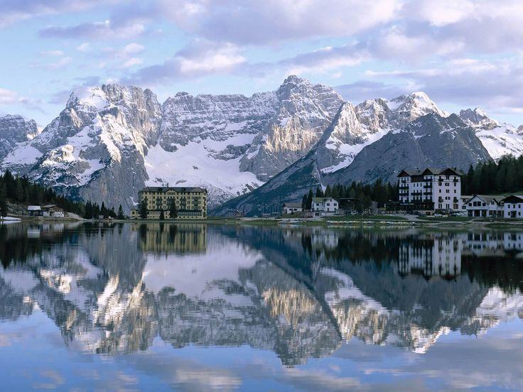 Misurina Lake Sorapiss Peaks & the Dolomites, Italy: Favorite Places, Lake Misurina, Beautiful Places, Lakes, Places I D, Travel, Italy
