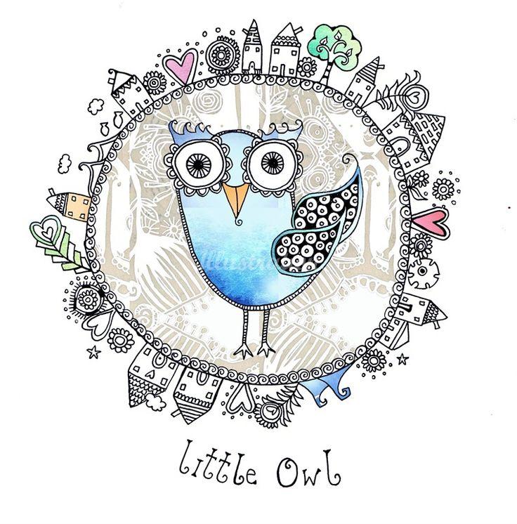 'Little Owl' by Hannah Davies