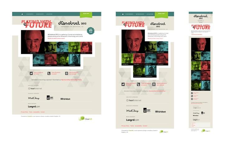 dConstruct 2012 Responsive Design