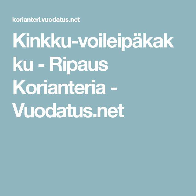 Kinkku-voileipäkakku - Ripaus Korianteria - Vuodatus.net
