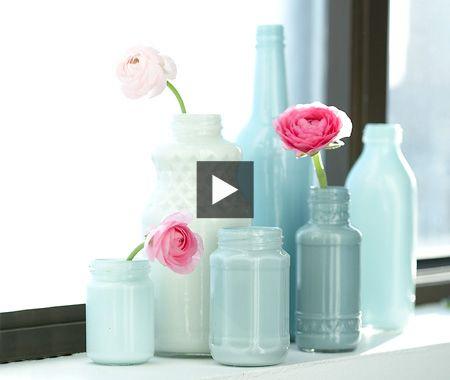 Pretty DIY Vases