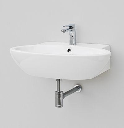 File 2.0, design Meneghello Paolelli Associati. #TheArtceram    wall-hung washbasin 75x51