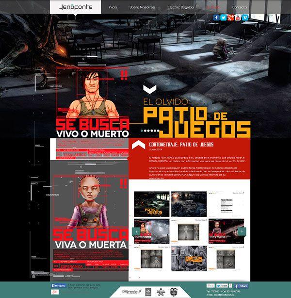 Diseño web Jenofonte on Behance #design #web #graphic #interface http://www.jenofonte.co/