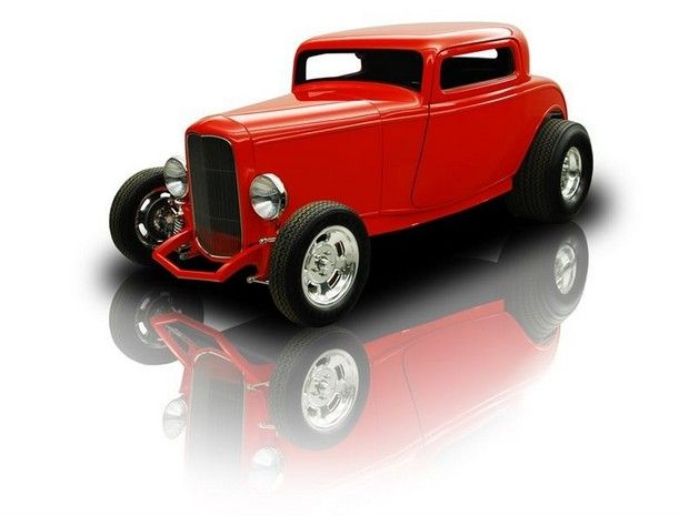 1932 Ford 3 Window Coupe Zz4 V8 Th350 1932 Ford Ford 3 Window