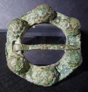 AUTENTICA-FIBULA-VIKINGA-DE-ORIGEN-ESCANDINAVO-ANCIENT-VIKING-FIBULA