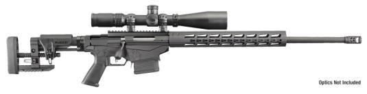 "Ruger Precision Rifle 6.5 Creedmoor 24"" Barrel 5R Rifling MSR Folding Adjustable Stock 10 Rd Mag New 2016 Model"