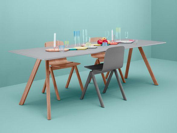 Hay Copenhague Table with Slanted Legs