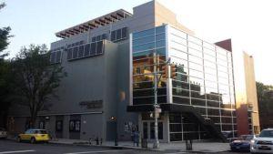Wall Mount Solar Array on Williamsburg Cinemas