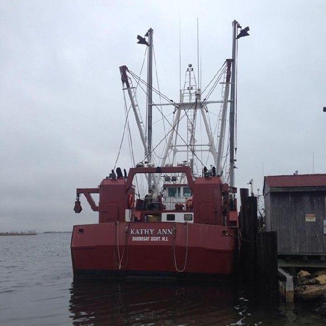 Lbi: The FV Kathy Ann In Barnegat Light, LBI #fishingboat