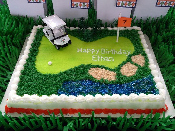 Birthday Cake Ideas Golf : Best 25+ Golf birthday cakes ideas on Pinterest Golf ...