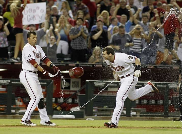 Martin Prado and Paul Goldschmidt
