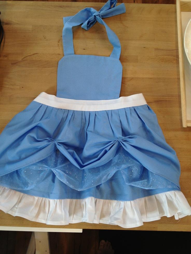 Toddler Cinderella inspired Apron