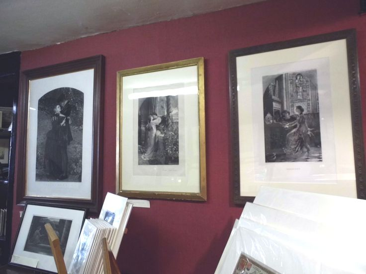 Just a few of the Pre-Raphaelite prints that we have in store