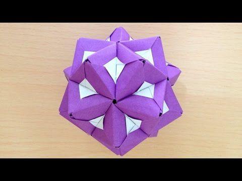 簡単 折り紙:折り紙 くす玉 ユニット-jp.pinterest.com